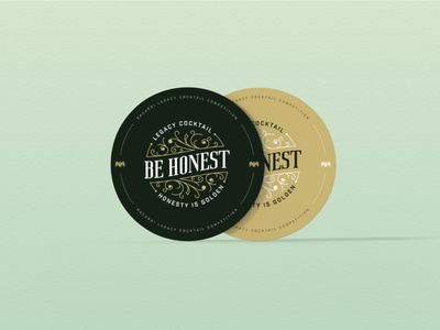 Be Honest Cocktail - Visual Identity