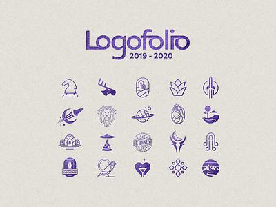 Logofolio 2019-2020 logodesign brandmark logomark collection vector logocollection logotype logoset logofolio