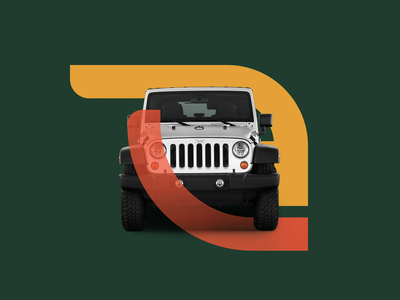 MyLift symbol usage adventurous logo usage symbol design icosaedru adrenaline wild energetic modern bold branding visual identity brandmark symbol jeep offroad car rental app car rental