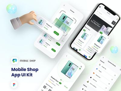 Mobile Shop - Premium Ecommerce App UI Kit electronic shopping