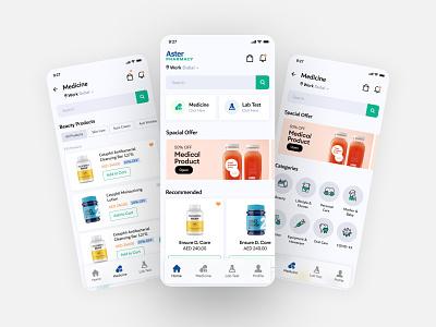 Modern medical app designs medical dribbble illustration app ui ux design clean color