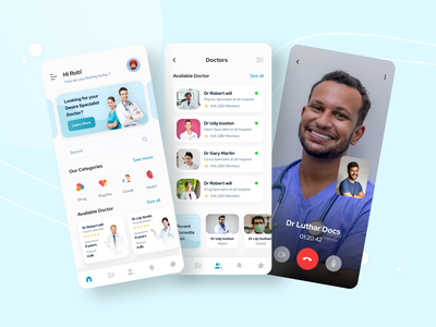 Doctor Appointment Mobile app doctor appointment doctor appointment mobile app color ui clean ux app