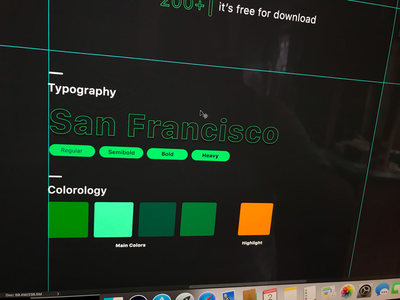Monitor app assets flat branding typography color website illustration icon simple clean photoshop dribbble ux ui case design
