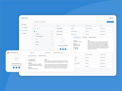 Web Design - Zefik crm web app web design website minimal design responsive