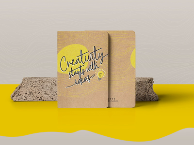 Notebook Design video notebook notebook mockup print animation creative graphic design design typography illustration concept print design