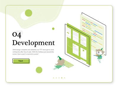 Santa's Polar Express App: Part 4 development mobile holiday design christmas holiday tech concept ux app creative graphic design illustration design