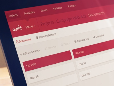 Document multi-select.  selection document ux ui engine net outfit