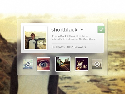 Instabound - Instagram Widget Rebound
