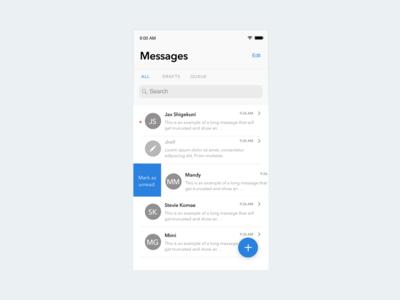 Apple Messages - enhancements