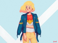 Captain Marvel casual