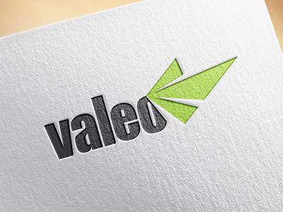Valeo Rebrand packaging stationery mobile web logo branding brand identity