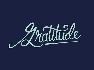 Gratitude lettering illustration lettering type art script gratitude thanksgiving hand lettering type