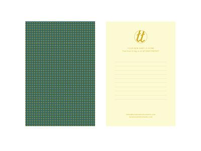 TunaTone Thank You design print layout branding document document design thank you card thank you card brand design