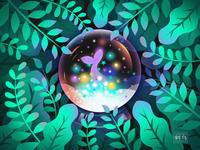 Crystal ball 水晶球