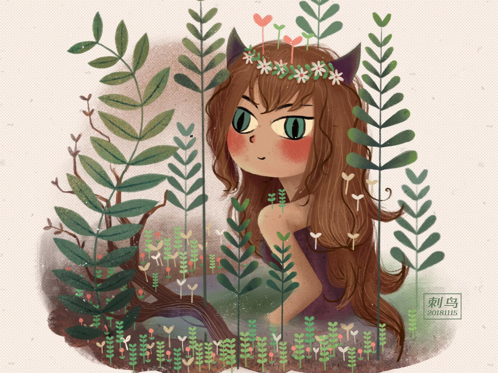 小魔女Little witch illustration, illustrator