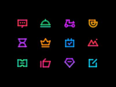 Icon practice app design icon ux ui logo
