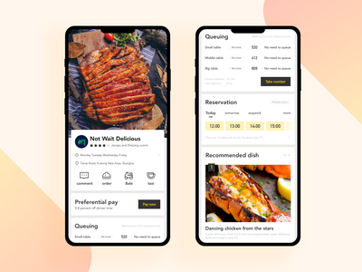 Food APP branding design app ux icon ui