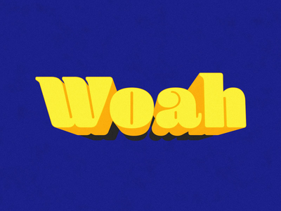 Woah woah text type loop motion animation after effects