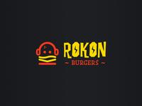 Rokon Burgers Branding