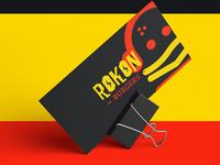Rokon Burgers Business Card