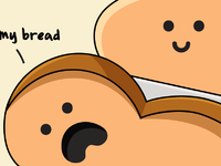 Cant feel my bread badcropping