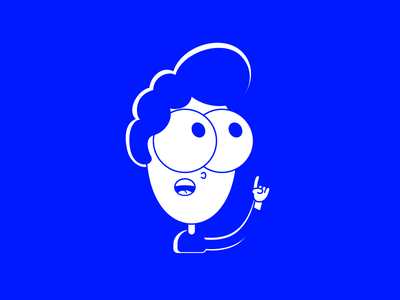 Uhhhh . . . actually uhh blue and white illustration blue