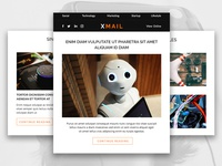 Xmail - A Modern and Responsive Email Template
