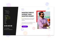 Portfolio Website Design - Toheed Hussain