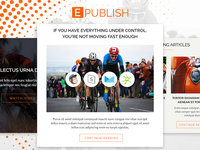 ePublish – Modern Blog Email Template