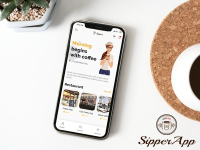 Sipper Mobile App