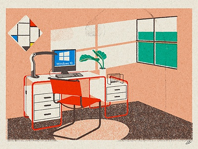 windows toucan shadow light mondriaan breuer windows10 windows