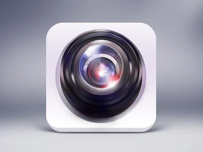 Camera icon  camera icon perspective