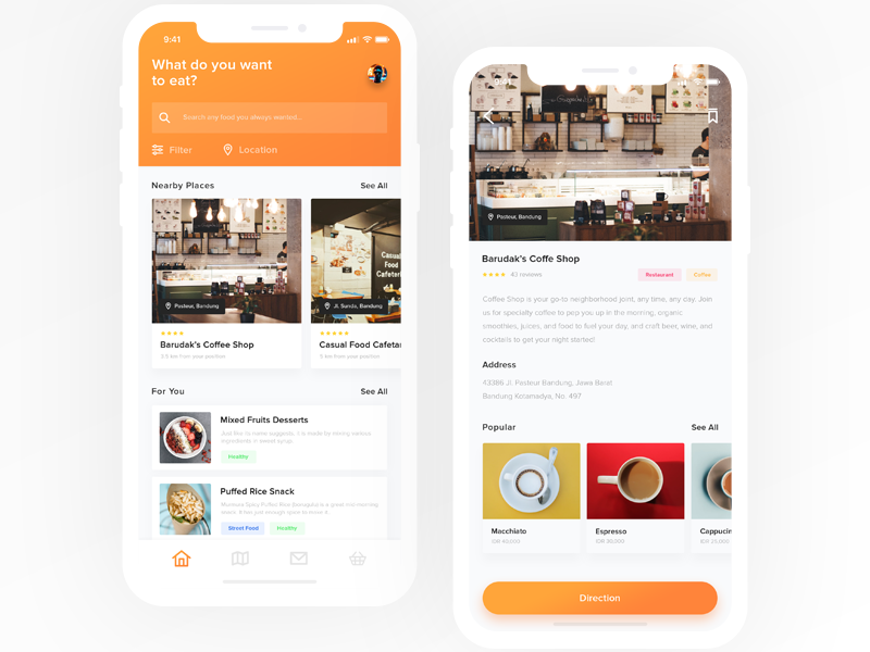 Culinary App | Exploration design culinary ui ux exploration mobile ios iphone ui design ux design mobile app iphone x