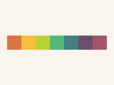 Jeez colors are hard. color swatch rainbow