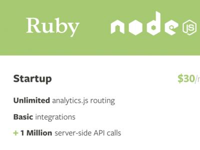 Paid plans ruby node python java .net freight sans