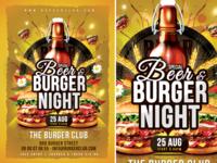 Beer   Burger Night