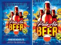 Beer Promotion Flyer