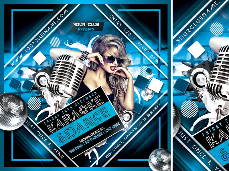 Karaoke&Dance by mograsol on Dribbble