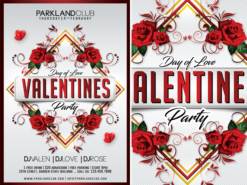 Valentines Day By Mograsol Dribbble Dribbble