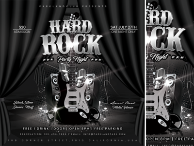 Hard Rock Party Night