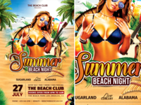 Summer Beach Night