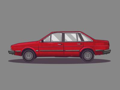 Corsar Volkswagen vector illustrator design