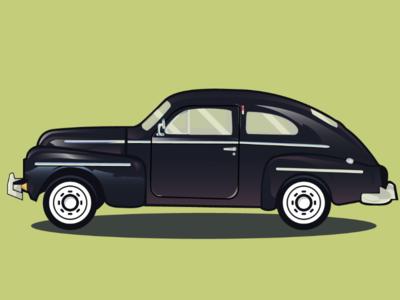 Volvo design illustrator vector