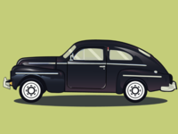 Volvo design illustrator vector