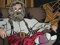 Santa Russell santa vector illustrator design