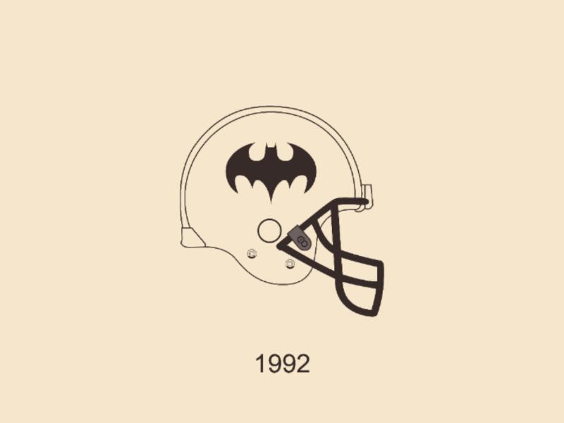 Batman 92 vector illustrator design