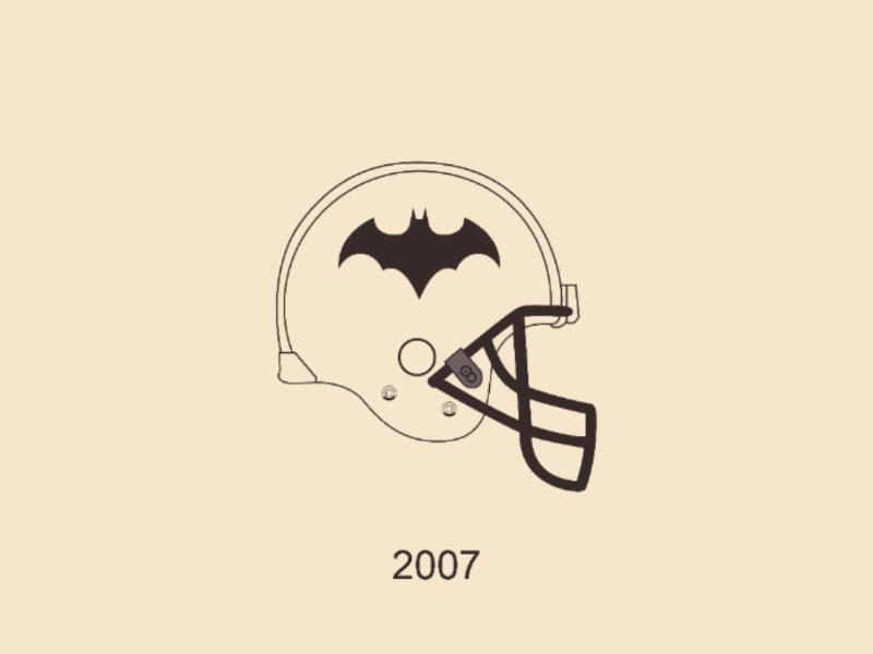 Batman 2007 vector illustrator design