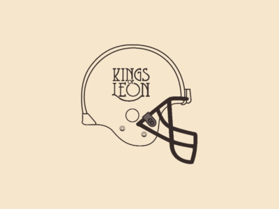 Kings of Leon helmet