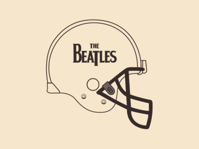Beatles helmet
