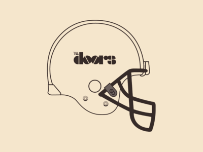 The Doors Helmet